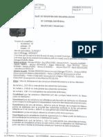 L'arrêté municipal pris par le conseil municipal de Bussière