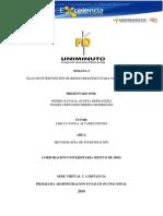 Plan de Intervención de Riesgo Biológico Para