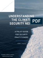 Understanding the Climate-security Nexus
