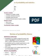 Probability and Statisctics