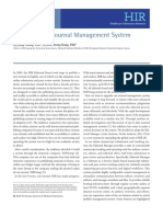 A New Online Journal Management System