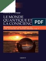 Le monde quantique et la conscience (Henry P. Stapp)
