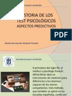 HISTORIA DE LOS TEST PSICOLOGICOS