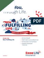Exide Life New Fulfilling Life