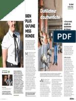 """Magazine du conseil départemental du Bas-Rhin, extrait """"journée des hommes"""""""