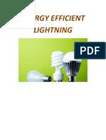 Effecient Energy Lightning System