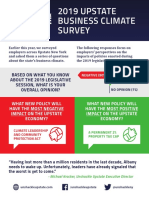 Unshackle Upstate 2019 Business Climate Survey