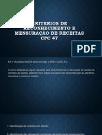 CRITERIOS DE RECONHECIMENTO E MENSURAÇÃO DE RECEITAS.pptx