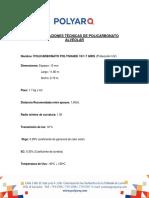 Especificaciones Técnicas Polyshade Gris 10 Mm