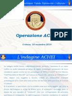 Presentazione Oparazione ACHEI