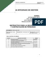 SELECCION Y CONTRATACION DE PERSONAS