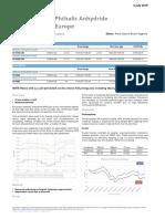 Phthalic Anhydride (Europe) 5 Jul 2019