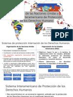 Sistema de Las Naciones Unidas y Sistema Interamericano