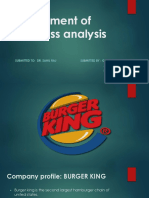 Ppt about launching new product of burger king