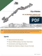 Malden Community Meeting Presentation