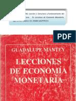 Guadalupe Mántey. Estructura y Funcionamiento Del Mercado Financiero