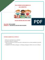 Planeacion Pedagogica Del Mes de Octubre Muñe