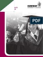 Scholarship Brochure- Sunway University College 2011