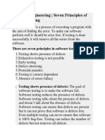 Seven Principles of Software Testing