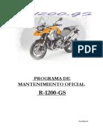 Programa de Mantenimiento Oficial Reprom r 1200 Gs