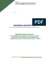 Memoria Descrip. Saneamiento Julcan 2
