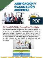 Planificación y Organizacion Municipal
