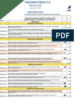 Copia de Lista de Precios Distribuidor 07- Noviembre-2019 Sin Iva