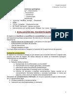 1. Evaluación preoperatoria