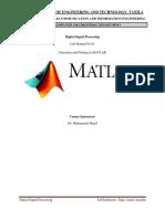 Lab Manual No 01