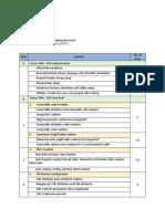 SRD-Training Scope and Agenda