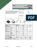 MOSFET AON6786