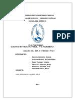 Analisis de La Sentencia. Constitucional