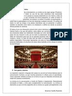 Definición de Teatro
