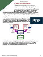 Digital Signal Processing (DSP)
