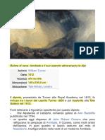 TURNER - Bufera Di Neve .... PDF