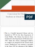School Concession