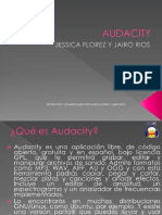 Audacity Diapositivas