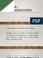Tema 1 Psicologia Del Trabajo