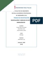 Recopilación y análisis de datos hidrológicos