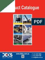 2016 DEKS Product Catalogue Small
