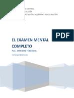 Examen Mental 1