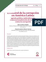 El Control de La Corrupción en ALC