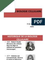 Pr Zaafrani Intro à La Biologie Cellulaire