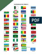 Banderas de África 1