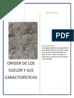 1er. Informe de Suelos1 LOGRADO