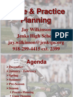 Practice and Game Planning