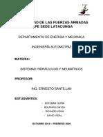 ELEMENTOS ELECTRICOS EN SISTEMAS HIDRAULICOS