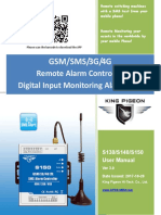 S130~S150 GSM SMS 3G 4G Alarm Controller Ver 3.0