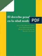 Machado Cabral, Et. Al.-el Derecho Penal en La Edad Moderna