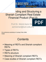 Structuring Islamic REIT Part 2 - NOV 2008